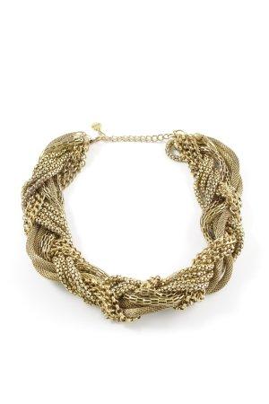 Hallhuber Halskette goldfarben Elegant