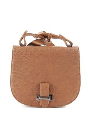 b1aa26d7c528d Hallhuber Handtasche braun schlichter Stil