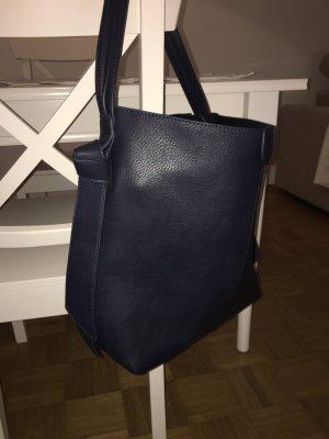 Hallhuber Handtasche dunkelblau