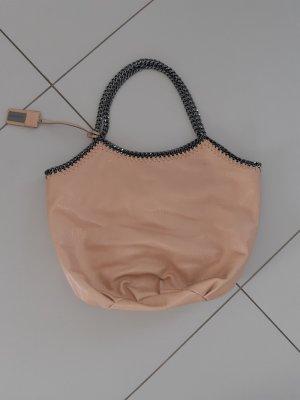 Hallhuber Handbag silver-colored-pink