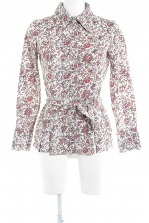 Hallhuber Hemd-Bluse florales Muster Casual-Look