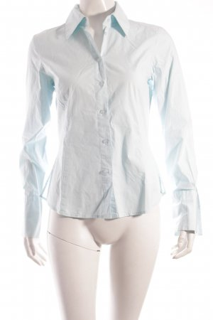 Hallhuber Hemd-Bluse hellblau-babyblau Eleganz-Look