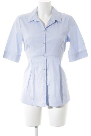 Hallhuber Hemd-Bluse hellblau klassischer Stil