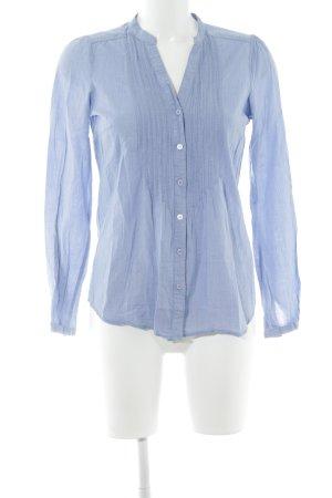 Hallhuber Hemd-Bluse himmelblau schlichter Stil