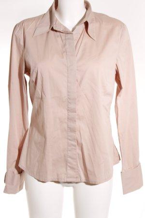 Hallhuber Hemd-Bluse rosé Business-Look
