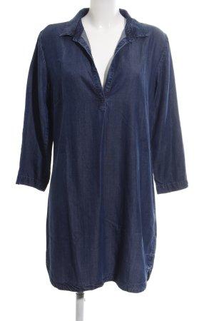 Hallhuber Hemdblusenkleid blau Casual-Look