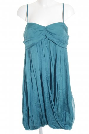 Hallhuber Hemdblusenkleid petrol Elegant