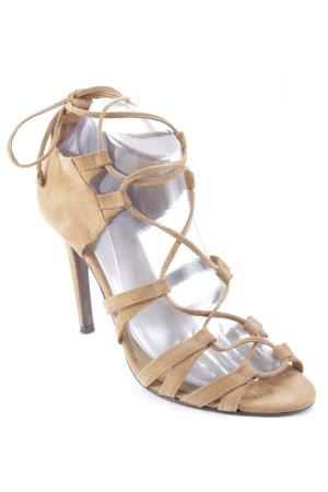 Hallhuber High Heel Sandaletten camel Casual-Look