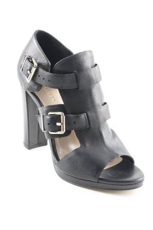 Hallhuber High Heel Sandaletten schwarz Elegant