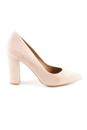Hallhuber High Heels beige 50ies-Stil