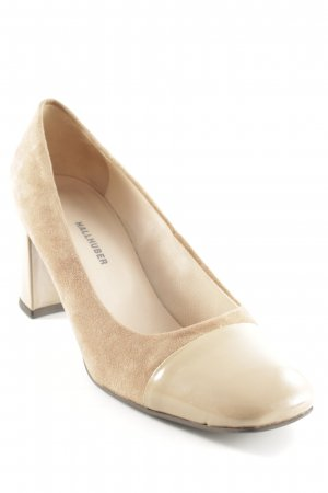 Hallhuber High Heels camel-nude Business-Look