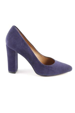 Hallhuber High Heels dunkelblau 50ies-Stil