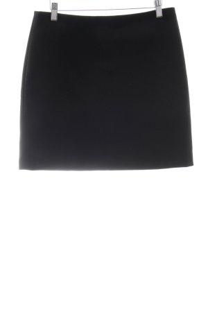 Hallhuber Jupe taille haute noir style décontracté