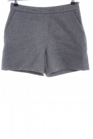 Hallhuber High-Waist-Shorts hellgrau Casual-Look