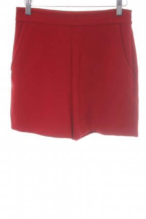 Hallhuber High-Waist-Shorts red casual look