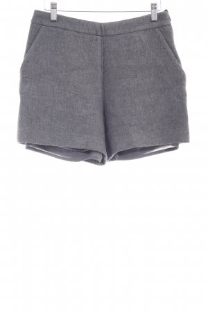 Hallhuber High-Waist-Shorts grey flecked elegant