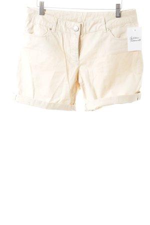 Hallhuber High-Waist-Shorts nude Casual-Look
