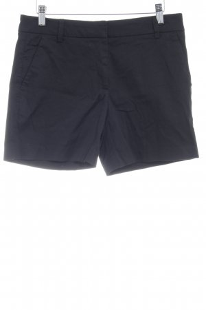 Hallhuber High-Waist-Shorts schwarz Casual-Look