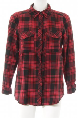 Hallhuber Lumberjack Shirt black-red check pattern casual look