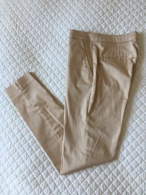 Hallhuber Jersey Pants oatmeal cotton