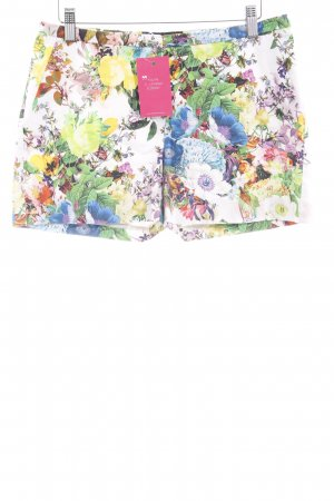 Hallhuber Hot Pants florales Muster Casual-Look