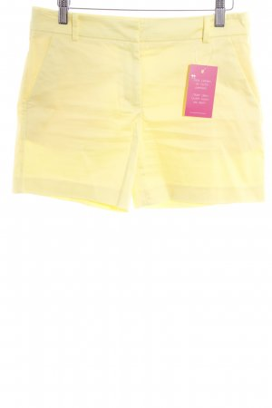 Hallhuber Hot Pants gelb Casual-Look
