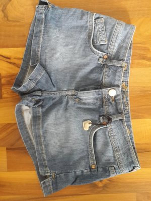 Hallhuber Hot Pants Jeans Herz