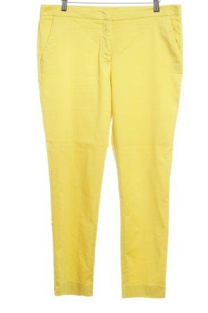 Hallhuber Hüfthose blassgelb-gelb Casual-Look