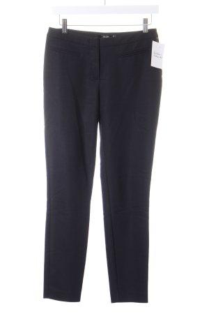 Hallhuber pantalón de cintura baja negro look casual