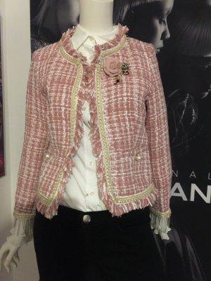 Hallhuber Jäckchen im Chanel Stil wie neu sehr edel ltd Edition Small