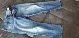 Hallhuber Pantalón boyfriend azul celeste