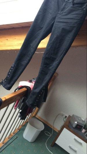 Hallhuber Jeans mit Schnürung