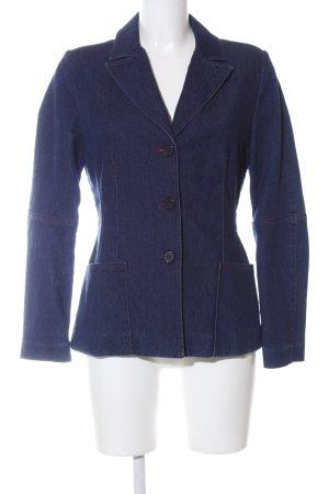 Hallhuber Jeansblazer blau Casual-Look