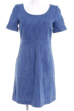 Hallhuber Jeanskleid blau 60ies-Stil