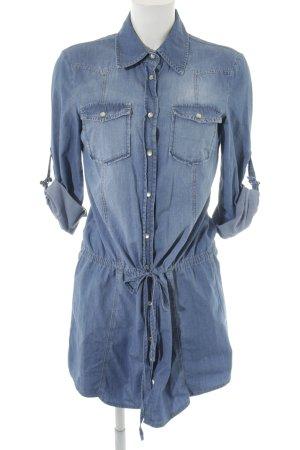 Hallhuber Jeansjurk azuur casual uitstraling