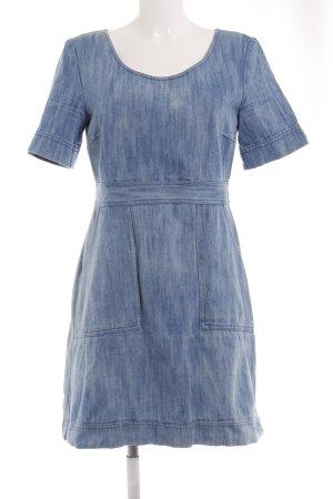 Hallhuber Jeanskleid kornblumenblau Washed-Optik