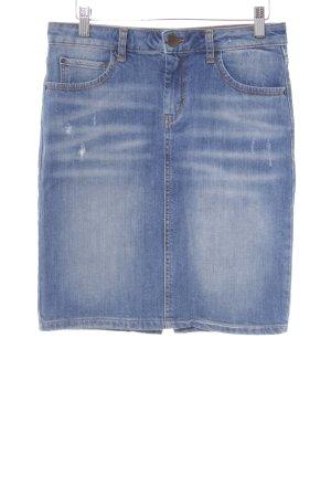 Hallhuber Jeansrock blau Casual-Look