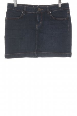 Hallhuber Gonna di jeans blu scuro stile jeans
