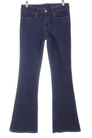 Hallhuber Jeansschlaghose blau Street-Fashion-Look