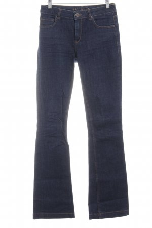 Hallhuber Denim Flares dark blue casual look