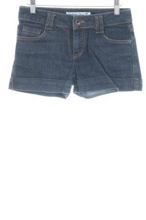 Hallhuber Jeansshorts dunkelblau Casual-Look