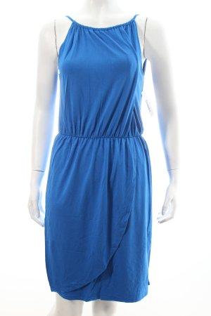 Hallhuber Jerseykleid blau Casual-Look