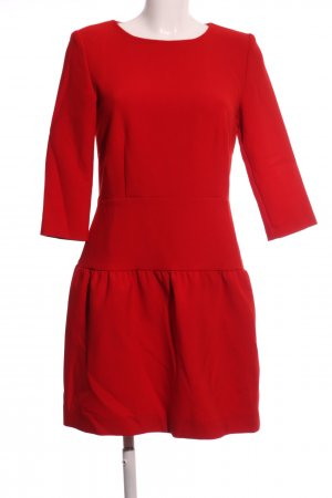 Hallhuber Jerseykleid rot Casual-Look