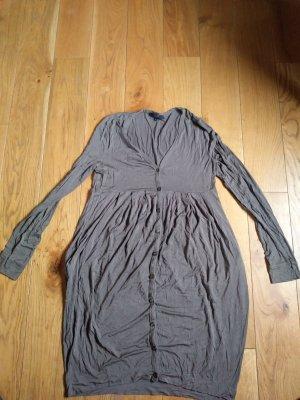 Hallhuber Jerseykleid Gr.XL taupe mauve Impressionen Conleys