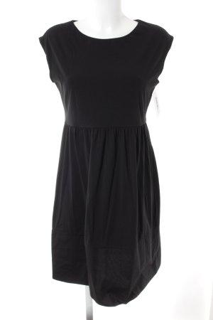 Hallhuber Jerseykleid schwarz Casual-Look