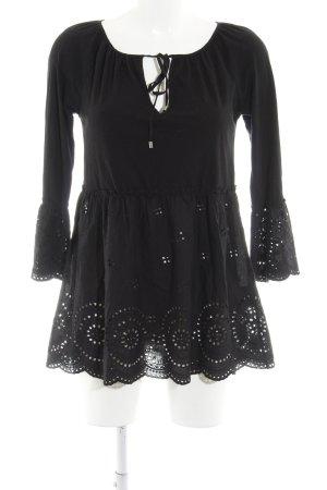 Hallhuber Jerseykleid schwarz Elegant