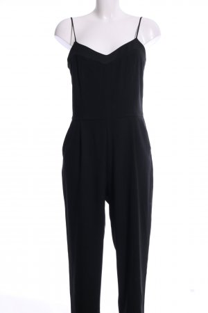 Hallhuber Jumpsuit schwarz Business-Look
