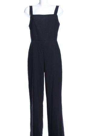 Hallhuber Jumpsuit blau Business-Look