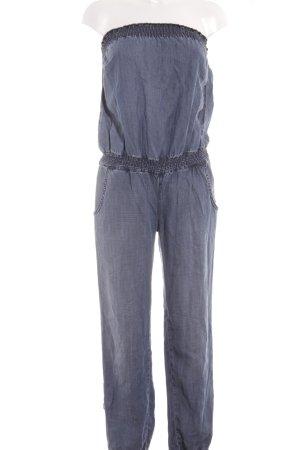 Hallhuber Combinaison bleu style délavé
