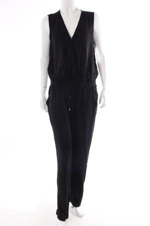 Hallhuber Jumpsuit schwarz